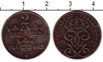 Изображение Монеты Европа Швеция 2 эре 1944 Железо XF