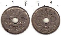 Изображение Монеты Дания 25 эре 1924 Медно-никель XF