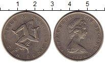 Изображение Монеты Великобритания Остров Мэн 10 пенсов 1976 Медно-никель XF