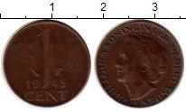 Изображение Монеты Европа Нидерланды 1 цент 1948 Бронза XF