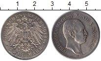 Изображение Монеты Германия Саксония 2 марки 1914 Серебро XF+