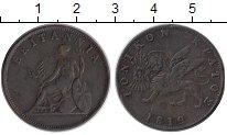 Изображение Монеты Греция Ионические острова 1 обол 1819 Медь XF