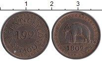Изображение Монеты Шри-Ланка Цейлон 1/192 ригсдоллара 1802 Медь XF+