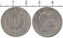 Изображение Монеты Германия Пруссия 1/6 талера 1844 Серебро XF