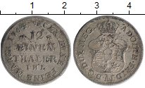 Изображение Монеты Мекленбург-Стрелитц 1/12 талера 1764 Серебро XF
