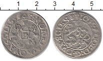 Изображение Монеты Шлезвиг-Гольштейн 1/16 талера 1605 Серебро VF