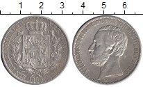 Изображение Монеты Германия Ольденбург 1 талер 1866 Серебро XF