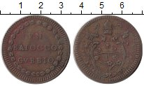 Изображение Монеты Ватикан 1 байоччи 1782 Медь XF-