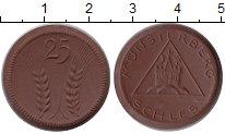 Изображение Монеты Германия : Нотгельды 25 пфеннигов 0 Фарфор UNC