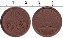 Изображение Монеты Германия : Нотгельды 20 пфеннигов 0 Фарфор UNC