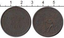 Изображение Монеты Африка Либерия 1 цент 1833 Медь XF