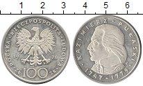 Изображение Монеты Польша 100 злотых 1976 Серебро Proof Казимир  Пулавский