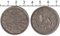 Изображение Монеты Азия Иран 5000 динар 1880 Серебро XF