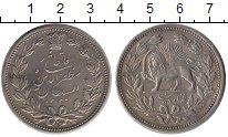 Изображение Монеты Иран 5000 динар 1902 Серебро XF+