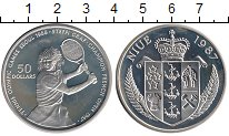 Изображение Монеты Ниуэ 50 долларов 1987 Серебро Proof