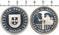 Изображение Монеты Европа Португалия 100 эскудо 1990 Серебро Proof-