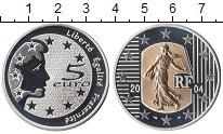 Изображение Монеты Франция 5 евро 2004 Серебро Proof