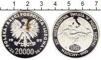 Изображение Монеты Польша 20000 злотых 1989 Серебро Proof-