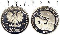 Изображение Монеты Польша 20000 злотых 1989 Серебро Proof