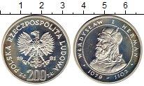 Изображение Монеты Польша 200 злотых 1981 Серебро Proof Владислав I Герман