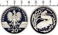 Изображение Монеты Европа Польша 20 злотых 1995 Серебро Proof-
