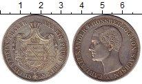 Изображение Монеты Саксония 1 талер 1858 Серебро XF-