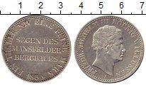Изображение Монеты Пруссия 1 талер 1834 Серебро XF