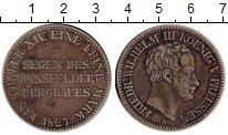 Изображение Монеты Германия Пруссия 1 талер 1827 Серебро XF