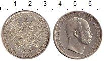 Изображение Монеты Германия Пруссия 1 талер 1866 Серебро XF