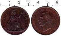 Изображение Монеты Европа Великобритания 1 пенни 1937 Бронза Proof-