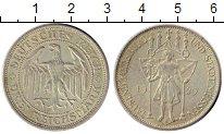 Изображение Монеты Веймарская республика 3 марки 1929 Серебро XF 1000 - летие  Мейсен