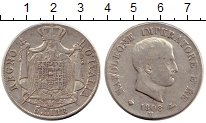 Изображение Монеты Италия 5 лир 1808 Серебро XF-