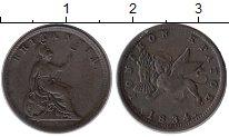 Изображение Монеты Греция Ионические острова 1 лептон 1834 Медь XF