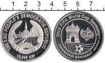 Изображение Монеты Азия Лаос 15000 кип 2006 Серебро Proof
