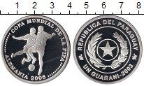 Изображение Монеты Южная Америка Парагвай 1 гуарани 2003 Серебро Proof
