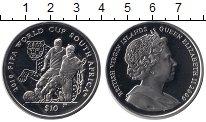Изображение Монеты Северная Америка Виргинские острова 10 долларов 2009 Серебро Proof
