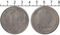 Изображение Монеты Италия Сицилия 12 тари 1796 Серебро VF