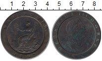 Изображение Монеты Европа Великобритания 2 пенса 1797 Медь XF-