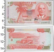 Изображение Банкноты Малави 5 квач 1994  UNC
