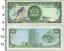 Изображение Банкноты Тринидад и Тобаго 5 долларов 1985  UNC