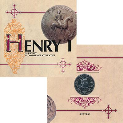 Изображение Подарочные монеты Великобритания Гернси 2 фунта 1989 Медно-никель UNC