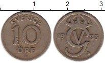 Изображение Монеты Швеция 10 эре 1923 Медно-никель XF-