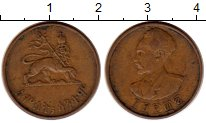 Изображение Монеты Африка Эфиопия 1 цент 1936 Медь XF-