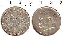 Изображение Монеты Европа Австрия 2 шиллинга 1928 Серебро XF-
