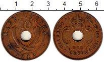 Изображение Монеты Восточная Африка 10 центов 1942 Медь VF