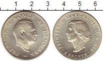 Изображение Монеты Европа Дания 2 кроны 1958 Серебро UNC