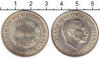 Изображение Монеты Европа Дания 2 кроны 1945 Серебро XF