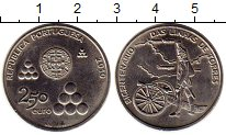 Изображение Монеты Португалия 2 1/2 евро 2010 Медно-никель UNC- 200 лет линии Торреш
