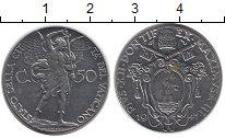 Изображение Монеты Европа Ватикан 50 сентесим 1941 Никель UNC-