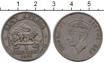 Изображение Монеты Восточная Африка 1 шиллинг 1950 Медно-никель XF